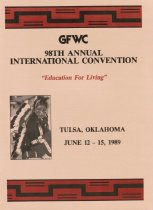 Image of CON 1989.06 - Convention and Meeting Records