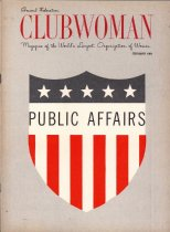 Image of General Federation Clumwoman, February 1964, cover