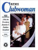 Image of General Federation Clubwoman, October-November 1994, cover