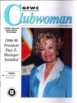 Image of General Federation Clubwoman, August-September 1996, cover