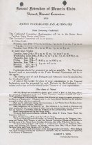 Image of Notice, eleventh biennial convention, 1912
