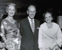 Image of Mrs. McCall, Mr. Darlington, and Mrs. Ozbirn
