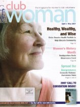 Image of General Federation Clubwoman, April-May 2007, cover