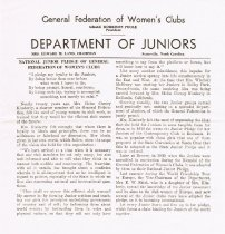 Image of Leaflet on background of National Junior Pledge (f. 1)