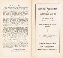 Image of PRO 1924-1926 - Program Records