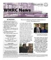 Image of WHN 2012.04 - Women's History and Resource Center Newsletters