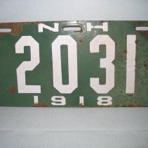 Image of 200735 - Plate, License