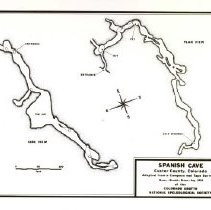Image of Survey Map of Spanish Cave