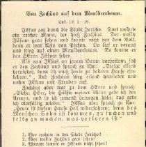 Image of back 1916 German post card