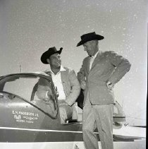 Image of E.M. Anderson Jr. A bar A, Medina, Texas airplane