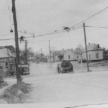 Image of Turney St. Opening & widening, 11-20-1940 - past Payne St