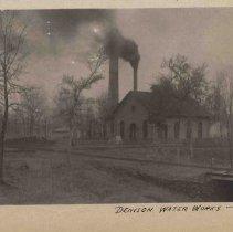 Image of Denison waterworks.