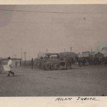 Image of Wagons in Milam Square, San Antonio