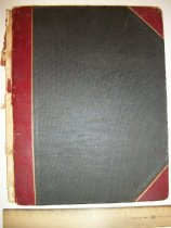 Image of Membership Record Book 1890 Vandergrift, PA