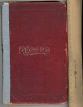 Image of Record book 1913-1948 Vandergrift, PA