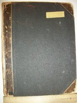 Image of Brethren Church Archives Manuscript Collections - Secretary book of the First Brethren Church 1901
