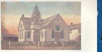 Image of Sergeantsville Brethren Church postcard [copied]