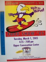 Image of Ashland University food show poster 2005