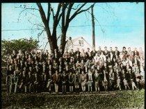 Image of 10-14FreshmanClass1926 - Transparency, Lantern-slide