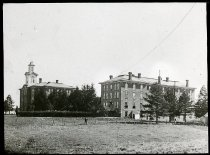 Image of 10-14front campus view 18 - Transparency, Lantern-slide