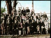 Image of 10-14SeminaryStudents1926 - Transparency, Lantern-slide