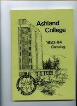 Image of 10-17Catalog1983 - Ashland College Catalog 1983-1984