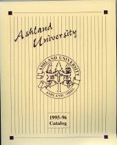 Image of 10-17Catalog1995 - Ashland University 1995-1996 Catalog