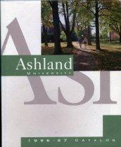 Image of 10-17Catalog1996 - Ashland University 1996-1997 Catalog