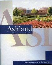 Image of 10-17Catalog1998Graduate - Ashland University 1998-1999 Graduate Catalog
