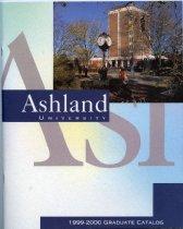 Image of 10-17Catalog1999Graduate - Ashland University 1999-2000 Graduate Catalog