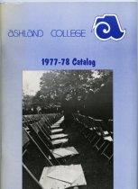 Image of 10-17Catalog1977 - Ashland College Catalog 1977-1978