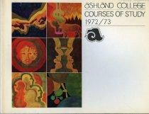 Image of 10-17Catalog1972 - Ashland College Course of Study 1972-1973 College Catalog Bulletin