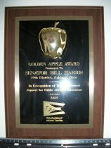 Image of Golden Apple Award - Plaque