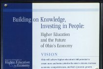 Image of Governor's commission on higher education & the economy - Plaque