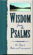 Image of Wisdom from the Psalms: 365 days of wisdom and encouragement