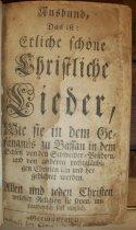 Image of Ausband 1742 title page