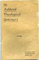 Image of 10-18Catalog1934 - The Ashland Theological Seminary Catalogue 1934-1935