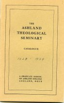 Image of 10-18Catalog1938 - he Ashland Theological Seminary