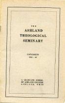 Image of 10-18Catalog1941 - The Ashland Theological Seminary Catalogue 1941-1942