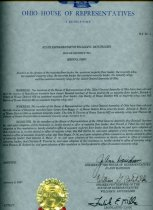 Image of A Resolution H.R. No. 1 - Certificate