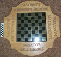 Image of Award-checker/chess/game board