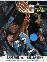 Image of 2011-021970Basketball0223 - Ashland vs Bellarmine men's basketball February 23, 1970