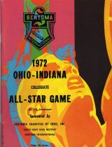 Image of 2011-021972BasketballAllS - 1972 Ohio-Indiana Collegiate All-Star Game NCAA sanctioned sponsored by SERTOMA Charities of Ohio