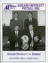 Image of 2011-022001Football0830 - Ashland University vs Edinboro football August 30, 2001