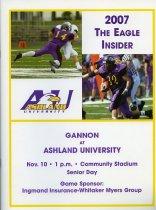 Image of 2011-022007Football1110 - 2007 Gannon at Ashland University