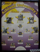 Image of Poster-Some of Ashland's University Notable Alumni - Poster