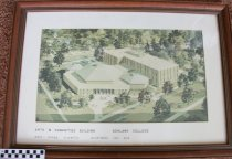 Image of Architect rendering of the Arts and Humanities building Ashland College, As