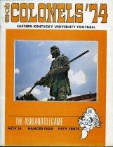 Image of 2011-021974Football1116 - Eastern Kentucky University vs Ashland College football November 16, 1974
