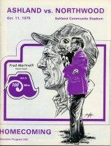 Image of 2011-021975Football1011 - Ashland College vs Northwood Institute football October 11, 1975