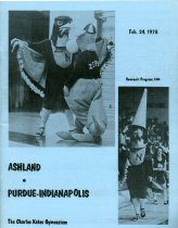 Image of 2011-021978MenBskball0224 - Ashland College vs Purdue-Indianapolis men's basketball February 24, 1978